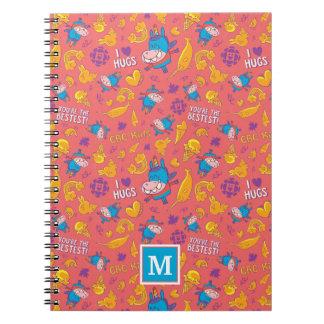 Gary - Pattern Spiral Notebooks
