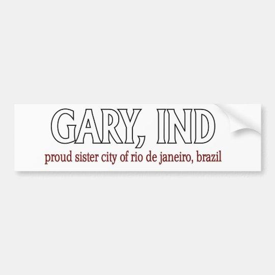 GARY PRIDE bumper sticker