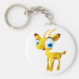 Gary The Gazelle Keychain
