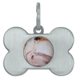 Garza by Albrecht Durer Pet ID Tag