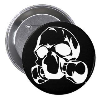 Gas 3 Inch Round Button