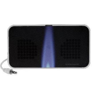 Gas Burner Notebook Speakers