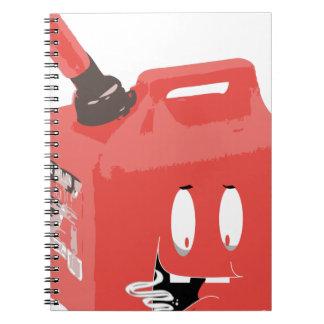 Gas-can Spiral Notebook