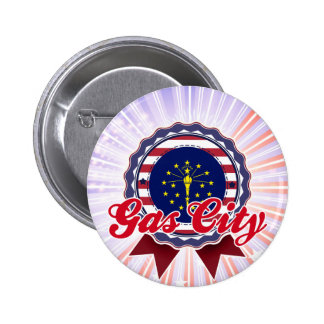 Gas City, IN Pinback Button