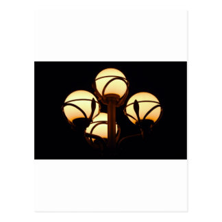 Gas Lamp Postcard