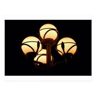 Gas Lamp Postcard