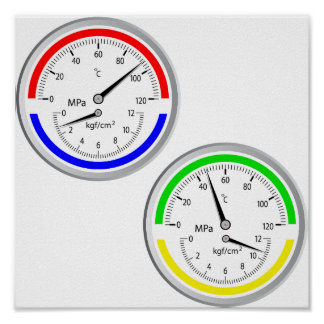 Gas Manometers Poster