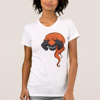 Gas Mask and Big Hair #4 T-Shirt