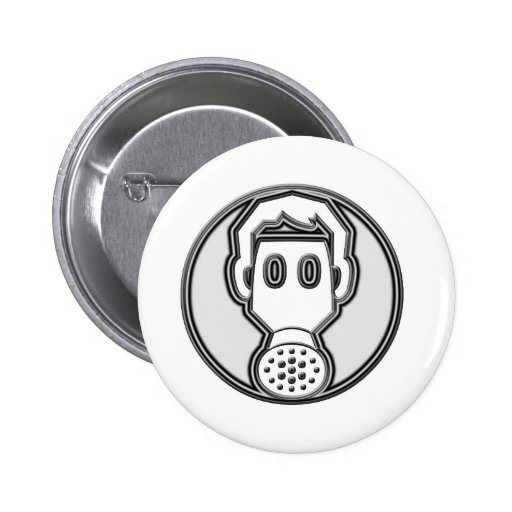 Gas Mask Buttons
