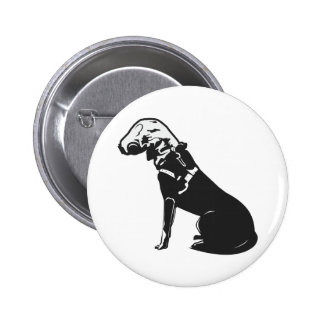 Gas Mask Doggie Buttons