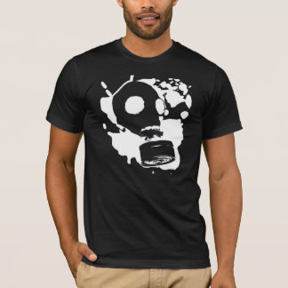 Gas Mask Graffiti T-Shirt