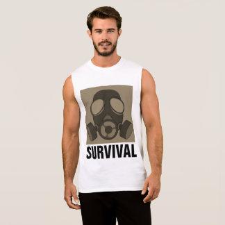 GAS MASK, Nuclear War, SURVIVAL T-shirts