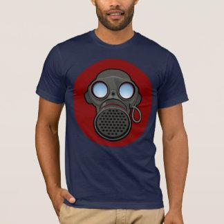 Gas Mask [red circle] T-Shirt