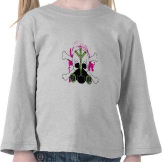 Gas Mask Skull & Crossbones T Shirts
