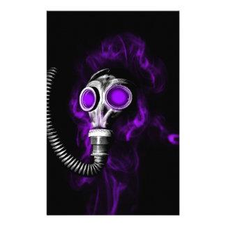 Gas mask stationery