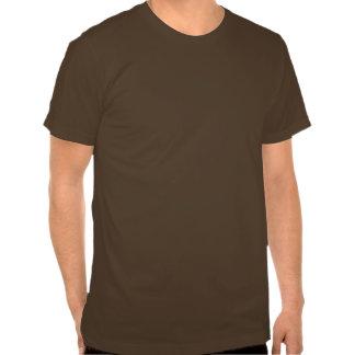 Gas Mask Sugar Skull (brown) T-shirt