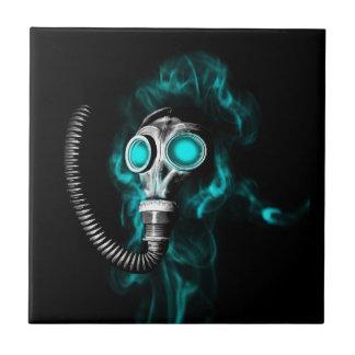 Gas mask tile