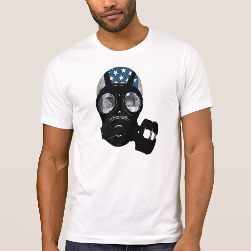 gas mask tshirt