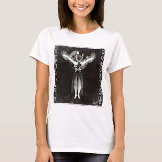 Gas Mask Witch T-Shirt