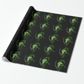 Gas mask wrapping paper
