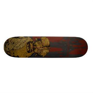 Gas Mask Zombie skate boards