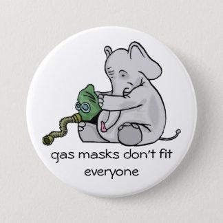 Gas Masks Button