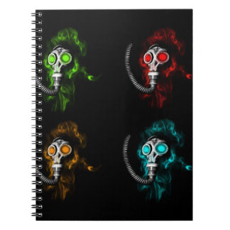 Gas masks notebook