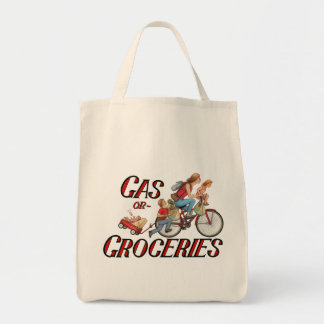 Gas or Groceries Tote Bag