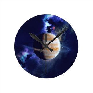 Gas Planet Clock
