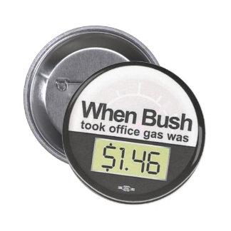 Gas price 2 inch round button