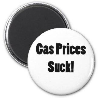 Gas Prices Suck! Magnet