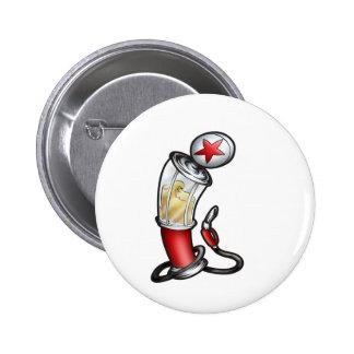 Gas Pump 2 Inch Round Button