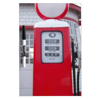 Gas Pump Dry Erase Board