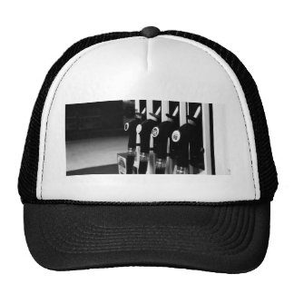 Gas Pump White Tee Trucker Hat