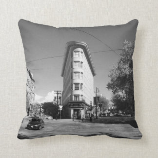 Gas Town Vancouver Throw Pillow
