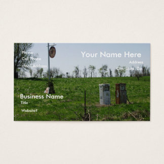 Gas Up on Route 66 Business Card