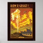 Gasket Geyser Illustration
