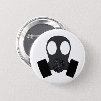 Gasmask Gas Mask 2 Inch Round Button