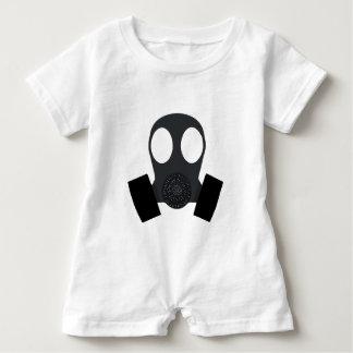 Gasmask Gas Mask Baby Romper