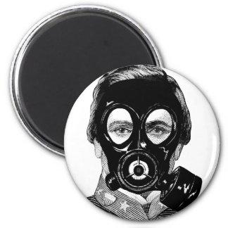 Gasmask Man Magnet
