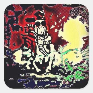 Gasmask & Snapback Stickers
