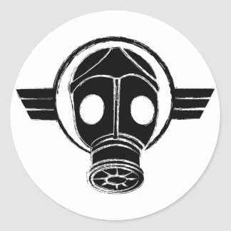 Gasmask Sticker