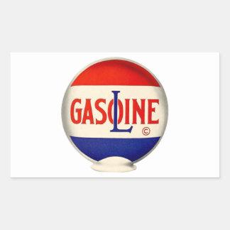 Gasoline Vintage Advertising Sticker