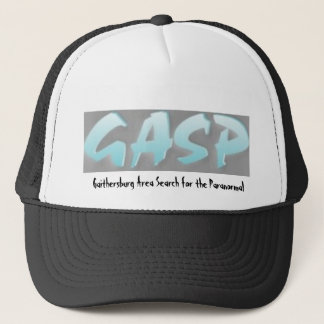 GASP_logo, Gaithersburg Area Search for the Par... Trucker Hat