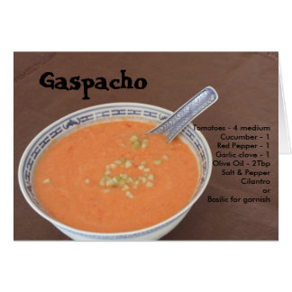 Gaspacho Card