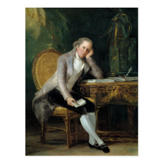 Gaspar Melchor de Jovellanos by Francisco Goya Postcard