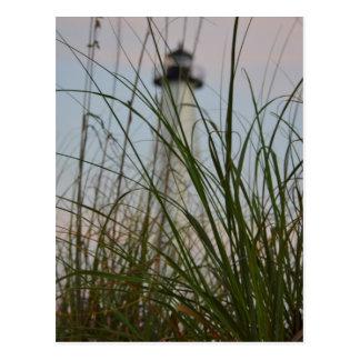 Gasparilla Island Lighthouse - Florida - Postcard