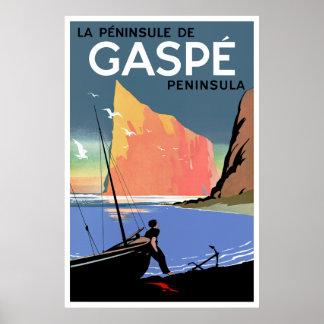 Gaspé Peninsula ~ Canada Poster
