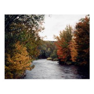 Gaspereau River, Nova Scotia, Canada at the Cornis Postcard
