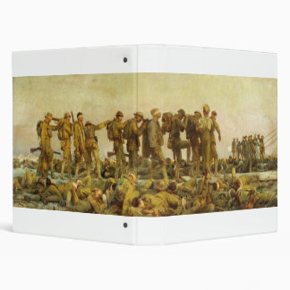 Gassed by John Singer Sargent World War I Binders